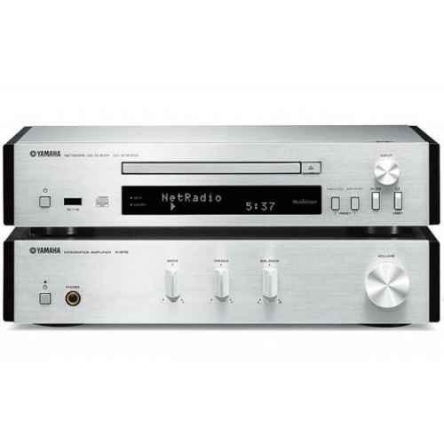 yamaha mcrn670 silver amplificador sin altavoces