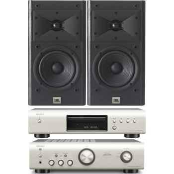 DENON PMA-520-SI+DCD520-SI- JBL ARENA-120