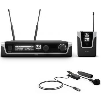 Ld systems U518 BPW Sistema inalámbrico con Petaca y Micrófono clip para Instrumentos de Viento
