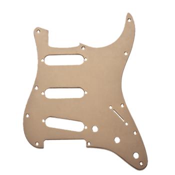 Fender Golpeador Stratocaster S/S/S 11 Agujeros de montaje Aluminio anodizado Dorado