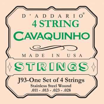 D´addario J93 cuerdas para Cavaquinto