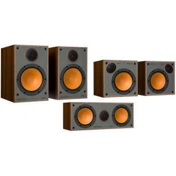 Monitor Audio Monitor 100 Pack 5.0 Walnut altavoces Home Cinema