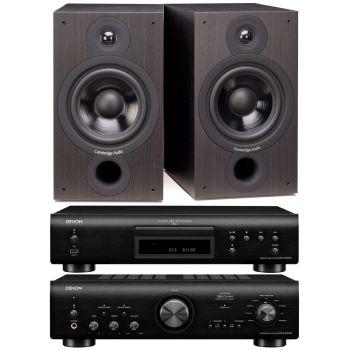 Denon PMA-800AE Black+DCD800 Black+SX60 Black  Conjunto Sonido