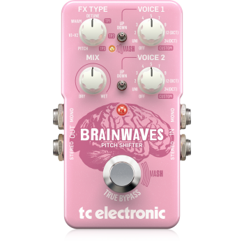 TC Electronic Brainwaves Pitch Shifter, Pedal de Efectos