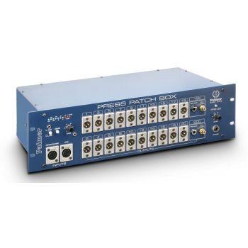 Palmer Press Patch Box 20 Distribuidor De Audio