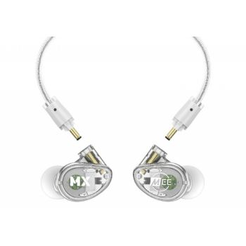 Mee Audio MX1 PRO Clear Auriculares In Ear profesional para escenario MX1 Pro Transparentes