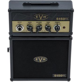 EVH 5150III EL34 Micro Stack Combo para Guitarra Black-Gold
