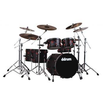 Ddrum Hybrid 6 Kit Black. Set de Batería Acústica