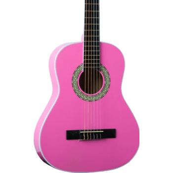 Eko CS-5 Pink Guitarra Clasica