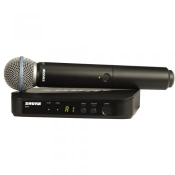 SHURE BLX24RE B58 Microfono inalambrico de Mano Beta 58