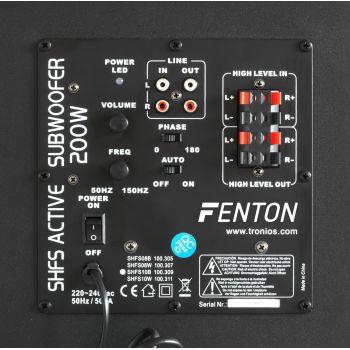Fenton SHFS08B Subwoofer activo 8