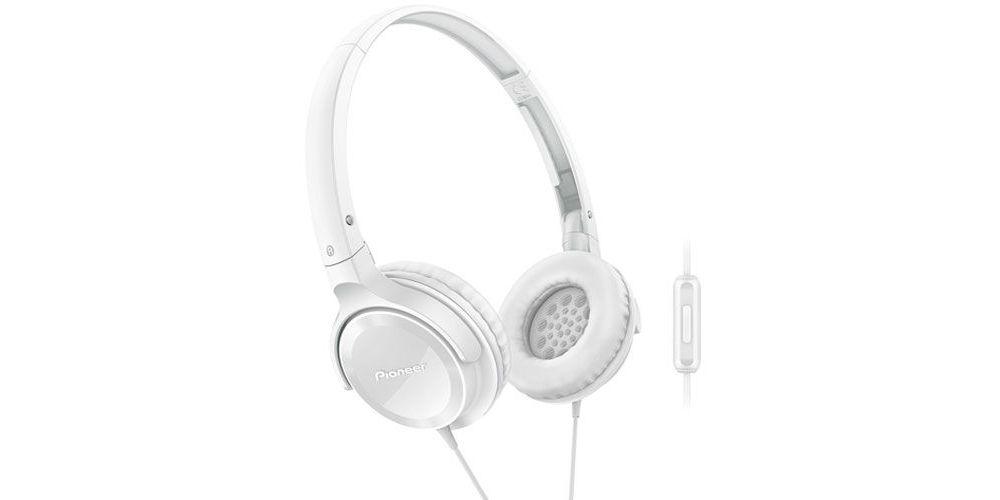 PIONEER SE-MJ502T-W Auriculares Cerrados Blancos con micro