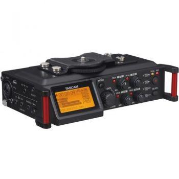 TASCAM DR-70D Grabador con mezclador integrador para DSLR