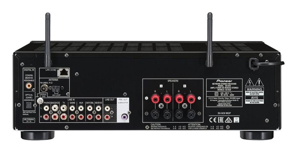 pioneer sxn30 black conexiones