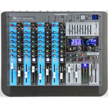 Power Dynamics PDM-S1204 Mezclador analogico 12 canales Profesional 172624
