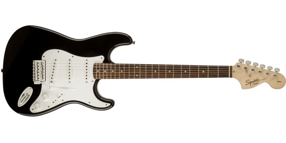 Fender Squier Affinity Stratocaster RW Black