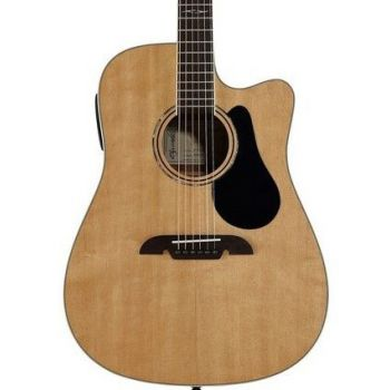 Alvarez AD60CE Artist Dreadnought Natural Guitarra Electroacústica