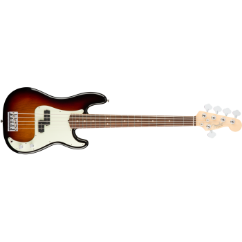 Fender American Pro Precision Bass V Rosewood Fingerboard 3-Color Sunburst