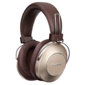 PIONEER SEMS9BN-G Auriculares Bluetooth Cancelacion Ruido Marron