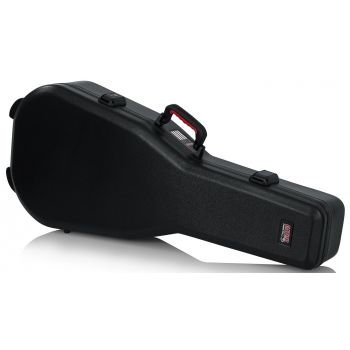 Gator GTSA-GTRDREAD Estuche de Polietileno para Guitarras Acústicas Dreadnaught