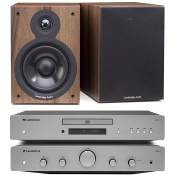 CAMBRIDGE AXA25 +AXC25+SX50-Walnut,  Conjunto audio