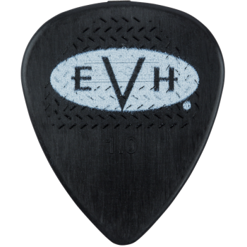 EVH Púas Signature Black-White Pack 6 Unidades 1 mm