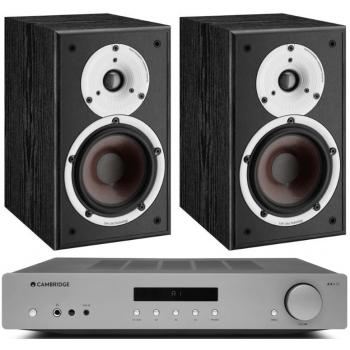 Cambridge Audio AXA35+Dali Spektor 2 Black Conjunto audio
