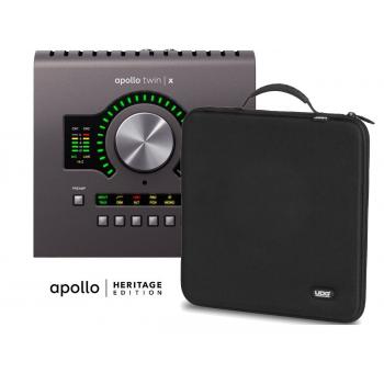 Universal Audio Apollo Twin X Quad Heritage Edition con Funda UDG