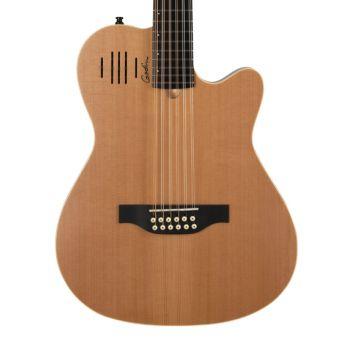 GODIN A12 Natural SG. Guitarra Acústica de 12 Cuerdas + Funda