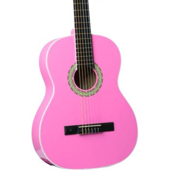 Eko CS-10 Pink Guitarra Clasica