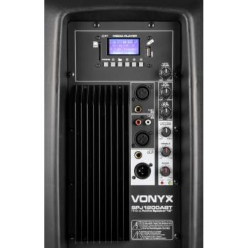 Vonyx SPJ-1200ABT 178.042 Altavoz Activo 12