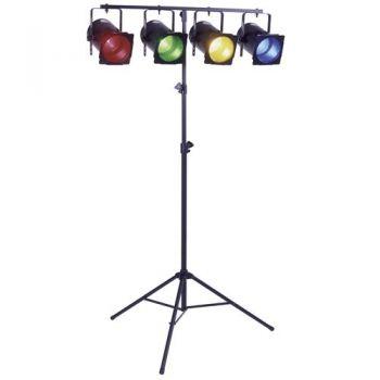 Trípode Soporte Iluminación Disco Dj, STANDLUCES-MH PRO RF:136 Audibax