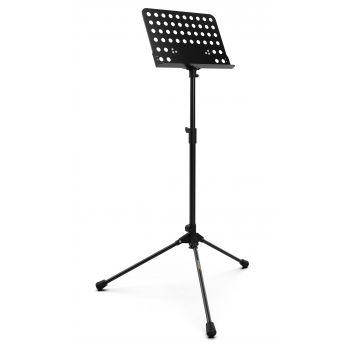 Audibax SP2 Atril de Orquesta Soporte Partitura Negro