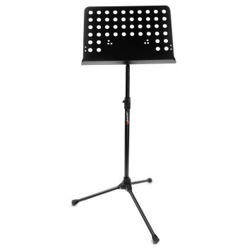 Audibax SP2 Atril de Orquesta Soporte Partitura Negro