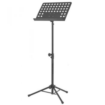 Atril de Orquesta SP2 Soporte Partitura Color Negro, Audibax