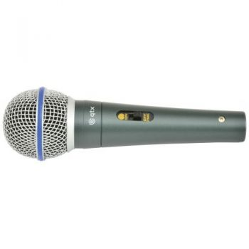 QTX DM15 Microfono Vocal Dinamico