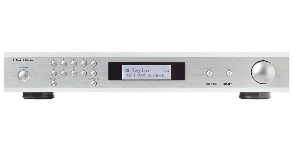 ROTEL T-11 Silver Sintonizador FM, DAB