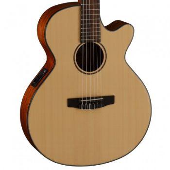 Cort CEC3-NS Guitarra Clásica Electrificada Natural Satin
