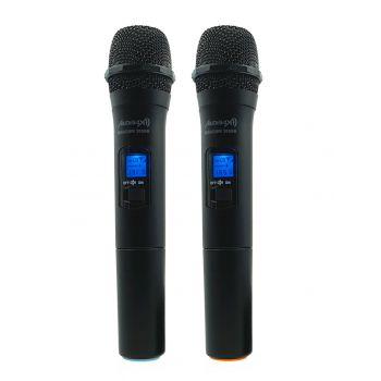 Audibax Missouri 2000 Microfono Doble Inalámbrico Mano VHF Rango A