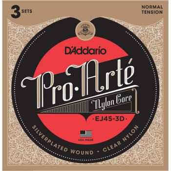 D´addario EJ45-3D Pro Arte Normal cuerdas para guitarra Española
