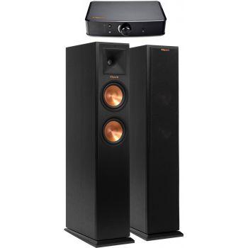 KLIPSCH POWERGATE+R-250F Ebony PAREJA Conjunto audio