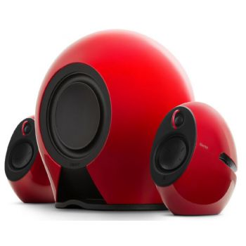 Edifier E235 Red Sistema Altavoces de Diseño Activos 2.1 THX Bluetooth. Rojo