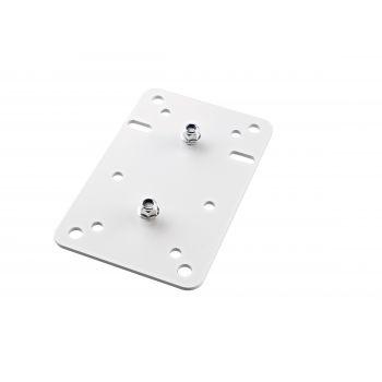 Konig & Meyer 24352 Placa Adaptadora Blanca
