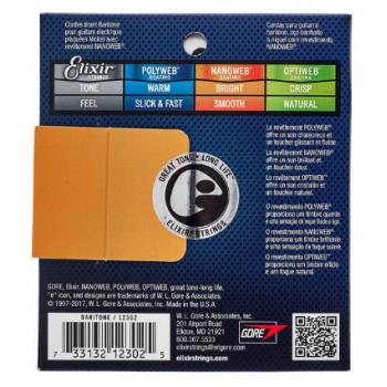 Elixir Nanoweb 12302 Baritone 12-68