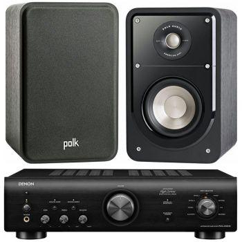 Denon PMA-600 NE Black+Polk Audio S15 conjunto audio