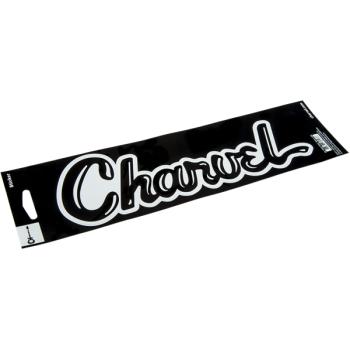 Charvel Pegatina de Vinilo Black