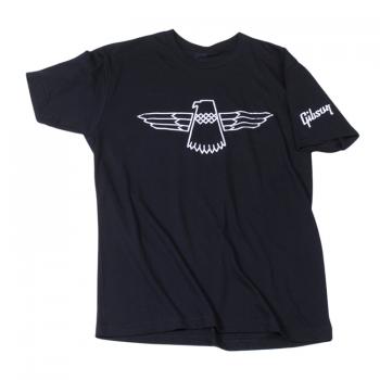 Gibson Thunderbird T Black MD Camiseta Manga Corta Talla M