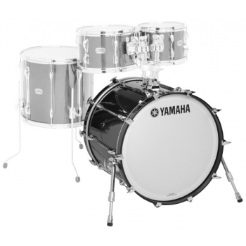 Yamaha Recording Custom Solid Black Bombo 22x14 RBB2214SOB