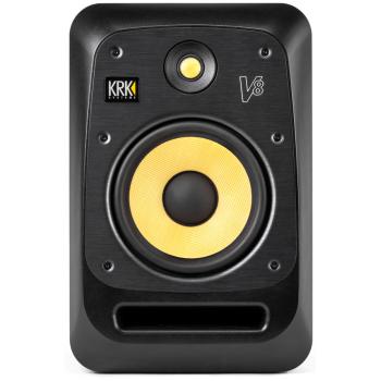 KRK V8S4 Monitor Amplificado Bi-Amplificado. Negro