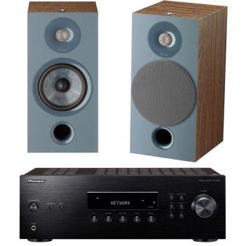 PIONEER SX-10AE-B+Focal Chora 806 Merisier Conjunto Audio